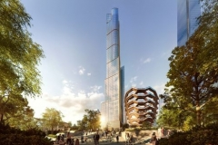 35 Hudson Yards with Vessel - courtesy of Related-Oxford
