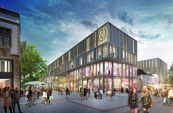 """<span class=""""entry-title-primary"""">ECE-Center in der Singener Innenstadt</span> <span class=""""entry-subtitle"""">Bürgerentscheid für den Bau des Einkaufcenters</span>"""