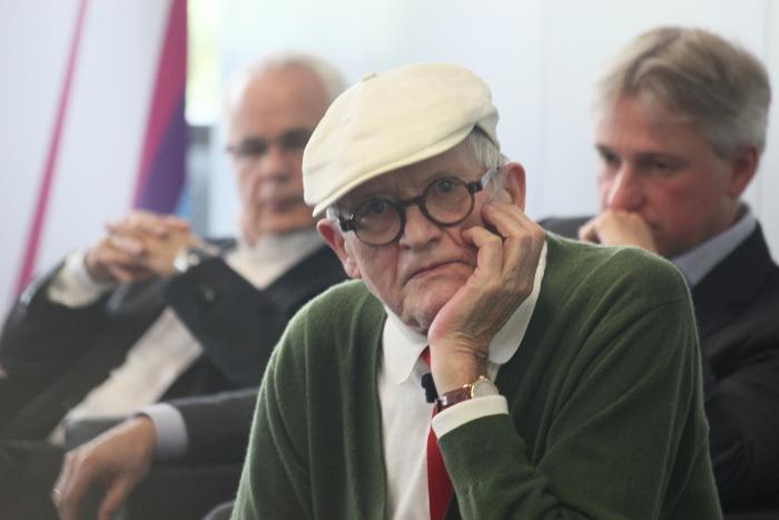 David Hockney auf der 68. Frankfurter Buchmesse