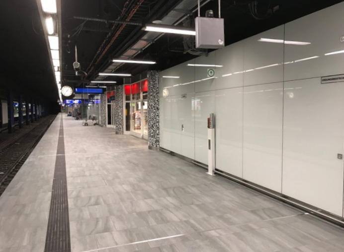 Umbaufahige Glassysteme Am Regionalbahnhof Frankfurter Flughafen Kulturexpress Info