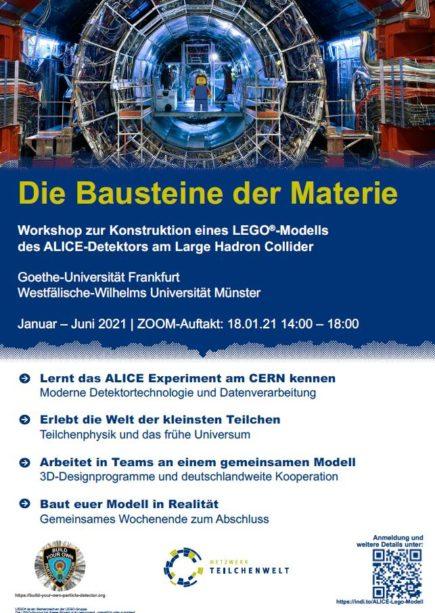 CERN-Detektor als Legomodell nachbauen – Einladung an Schüler:innen und Studierende