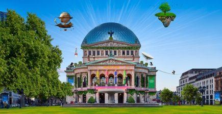 """FRATOPIA – Festival der Entdeckungen - Ideenmarathon - Gespräche und Musik rund um das Thema """"Visionen für Frankfurt"""" @ Alte Oper Frankfurt, verschiedene Säle"""